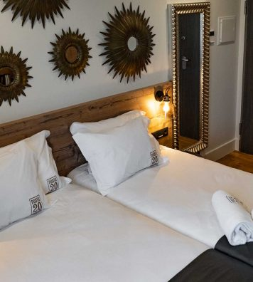 Quarto Twin - Porta 20 Boutique Guesthouse Leiria