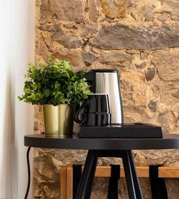 Cafeteira Comodidades Facilities - Porta 20 Boutique Guesthouse Leiria